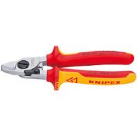 KNIPEX Nůžky kabelové s otevírací pružinou 165 mm 9526165