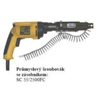 BEAprůmyslovýšroubováksezásobníkem-krátkýSC55/2500FC2500ot./minobj.č.12600038