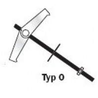 SklápěcípružinovákotvaTOXTICKI-M6x100mm,typO6-25ks