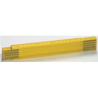 METRIE Skládací metr PROFI 10 - 2 m, barva citron Duplex III, plná stupnice Pcik01
