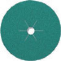 KLINGSPOR Brusný vulkánfíbrový kotouč CS 570 multipojivo, 125 x 22 mm, zrno 80 204096