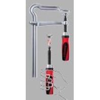 BESSEY Šroubová svěrka OMEGA GMZ se systémem Best Comfort - rozpětí 400 mm, vyložení 120 mm, GM40Z-2K