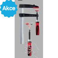 BESSEY Šroubová svěrka z temperované litiny TG se systémem Best Comfort firmy BESSEY, rozpětí 250 mm, vyložení 100 mm, TG25S10-2K