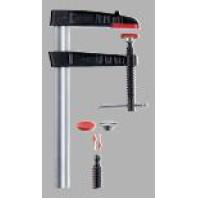 BESSEY Originální šroubová svěrka z temperované litiny TG - s kolíkovou rukojetí, rozpětí 400 mm, vyložení 120 mm, TG40S12K