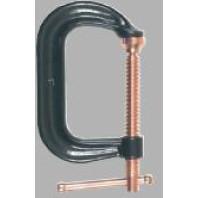BESSEY Celokovová šroubová C svěrka CDF-C, rozpětí 0 až 205 mm, vyložení 125 mm, CDF408C