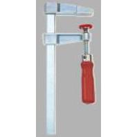 BESSEY Lehká šroubová svěrka z tlakové litiny LM, rozpětí 250 mm, vyložení 100 mm, LM25/10