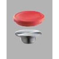 BESSEY Výměnná přítlačná destička z jakostní oceli s plastovou krytkou (4 kusy-sáček),  3101180