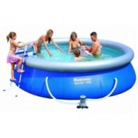 bazén rodinný 366x91 cm sada   57277