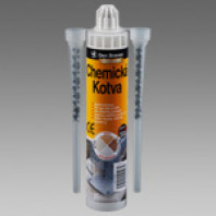 Chemická kotva POLYESTER (07.52a)  kartuše300 ml šedá 74015BD