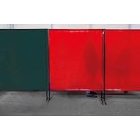 TransEco ochranná zástěna 2050 V, červená 2050 × 1870 mm 1612000