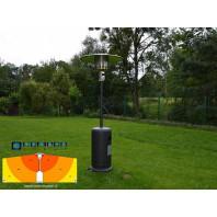 Kemper Group Tepelný zářič Soleado Negro 12kW 6541090NE