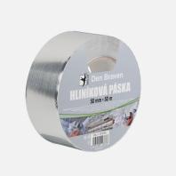 Den Braven - Hliníková páska, 100 mm x 50 m B754RL