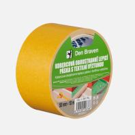Den Braven - Kobercová oboustranně lepicí páska s textilní výztuhou, 50 mm x 10 m B817RL