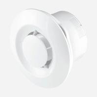 Den Braven - Stropní odtahový ventilátor s doběhem , Ø100, bílý VE1175