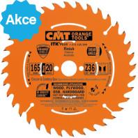 CMT ITK Ultra tenký kotouč pro AKU pily - D184x1,7 d20(+16,+15,87) Z24 HM podélný řez C27118424H
