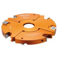 CMT Stavitelná drážkovací fréza 2 dílná MAN - D150x14-28 d30 Z2+2 V2+2 ALU C69402130