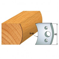 IGM profil 008 - pár nožů 40x4mm SP F026-008