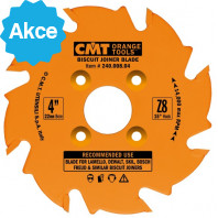 CMT Kotouč lamelovací pro lamelové spoje - D100x3,96 d22 Z8 HM rovný zub C24100804