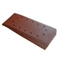 Brusný papír 115 x 280mm, perforovaný, 10ks - zrnitost 80 125-245068