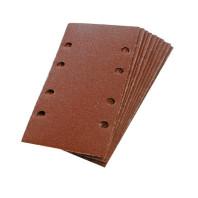 Brusný papír 93 x 190mm, perforovaný, suchý zip, 10ks - zrnitost 80 125-675218