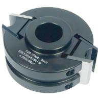 IGM Univerzální frézovací hlava MAN - D100x40-50 d30 ALU F021-10030