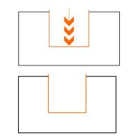 IGM F047 Drážkovací žiletková fréza - D14x49,5 L96 S=12 HM F047-14521