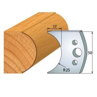IGM profil 546 - pár nožů 50x4mm SP F026-546