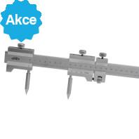 Kružidlo ploché s mm dělením a jemným stavěním KINEX 1000/0,1mm, DIN 862 2078-1