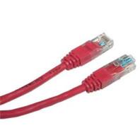 Patch kabel UTP cat 5e, 1m - červený 505512