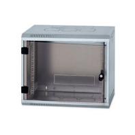 """Rack Triton 19"""" jednodílný 15U/500mm prosklené dveře,odnímatelné boční kryty zinek 5082019"""