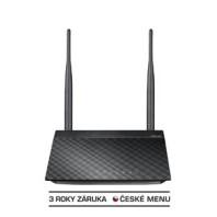 WiFi router Asus RT-N12K AP/Klient/router/extender, 4x LAN, 1x WAN, 2x 5dBi, (2,4GHz, 802.11n) 300Mbps 52020056