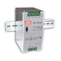 Zdroj Mean-well DR-120-24 průmyslový napájecí zdroj 24V 5A na DIN lištu 52900995