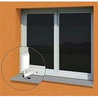 Držák malých antén/teploměrů na plastová okna bez nutnost vrtání do konstrukce nosnost 0,8kg 5296352