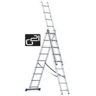 Žebřík G21 3-dílný 5,9m, 3x9 příček 6390384