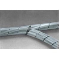 Páska spirálová k organizaci kabeláže 4-50mm 10m ČIRÁ 7028901