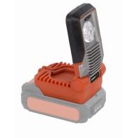 Aku LED svítilna 20V LI-ION 5W (bez baterie) POWDP8010