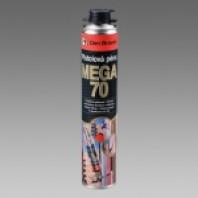 Pistolová pěna MEGA 70 (05.25), pistolová dóza870 ml žlutá 40221MG