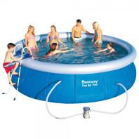 bazén samostavěcí 457 x 107 cm sada   57294