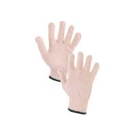 Canis  Textilní rukavice FLASH, bílé, vel. 08  334000310008
